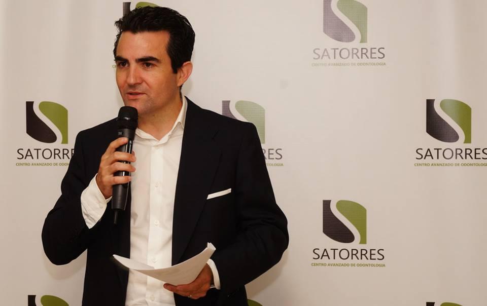 Javier Satorres en la I Edición Satorres Compromiso Social