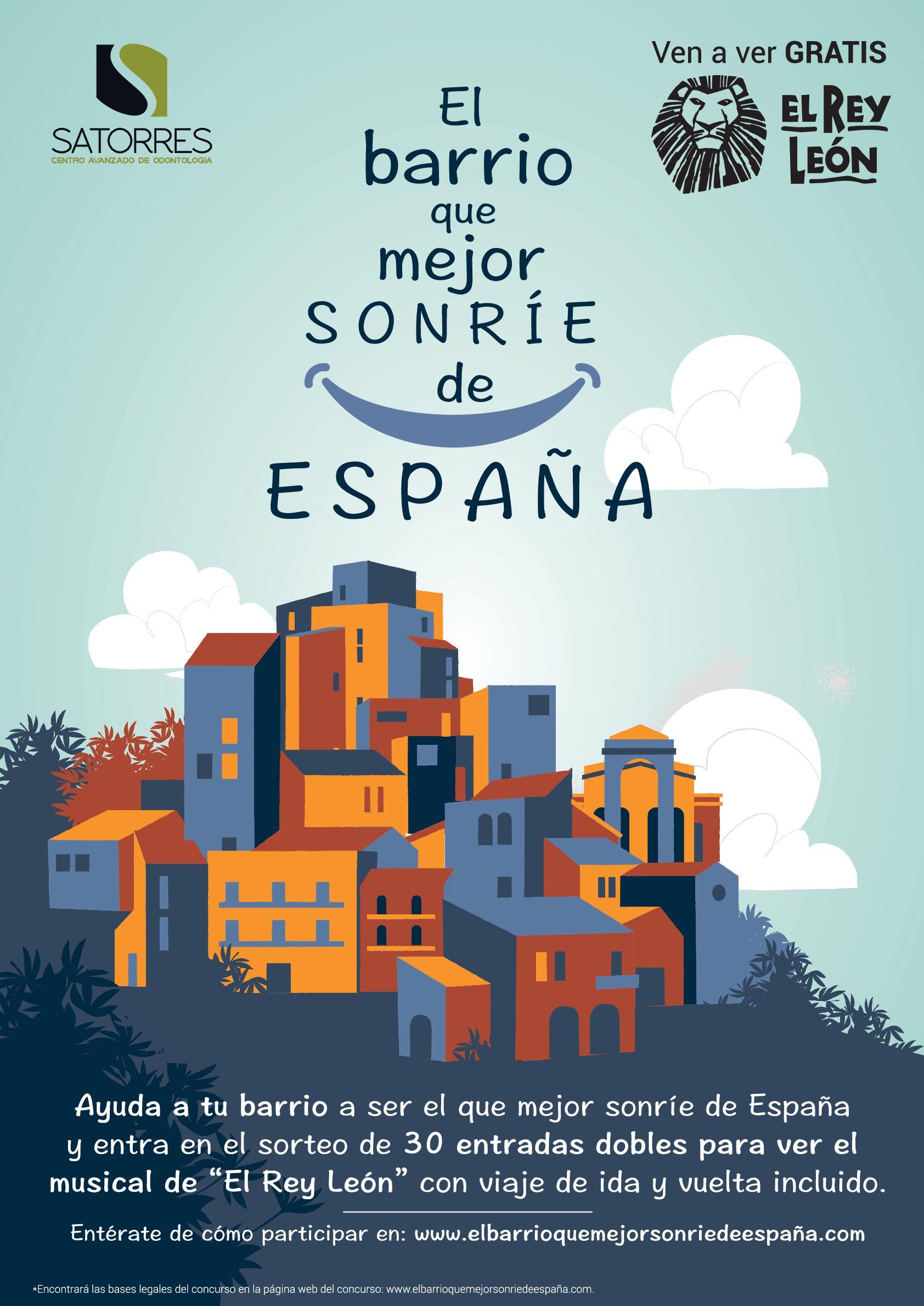 """""""El barrio que mejor sonríe de España"""""""
